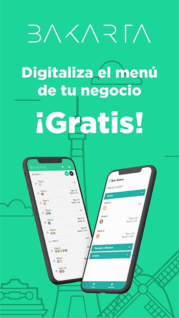 Digitaliza el menú de tu negocio con Bakarta ¡AHORA!