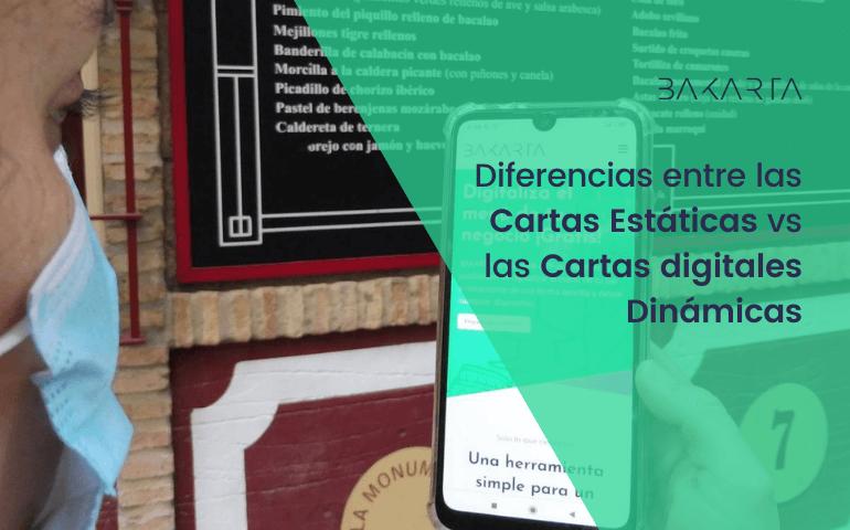 10 Diferencias entre las Cartas digitales Estáticas y las Dinámicas