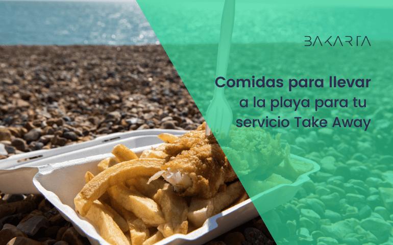 10 Mejores comidas para llevar a la playa y que puedes incluir en tu servicio Take away