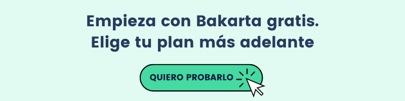 Comienza con Bakarta 100% gratis