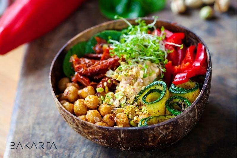 Menú vegano semanal