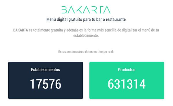 Más de 17.000 establecimientos que ya usan Bakarta