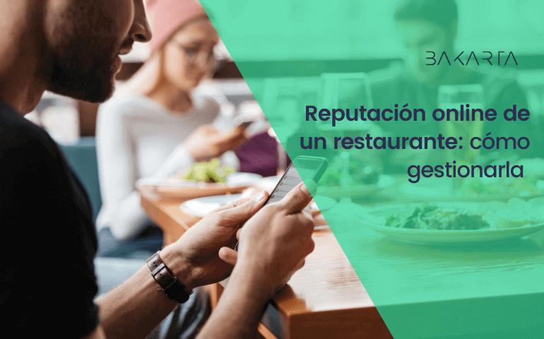 Reputación online de los restaurantes