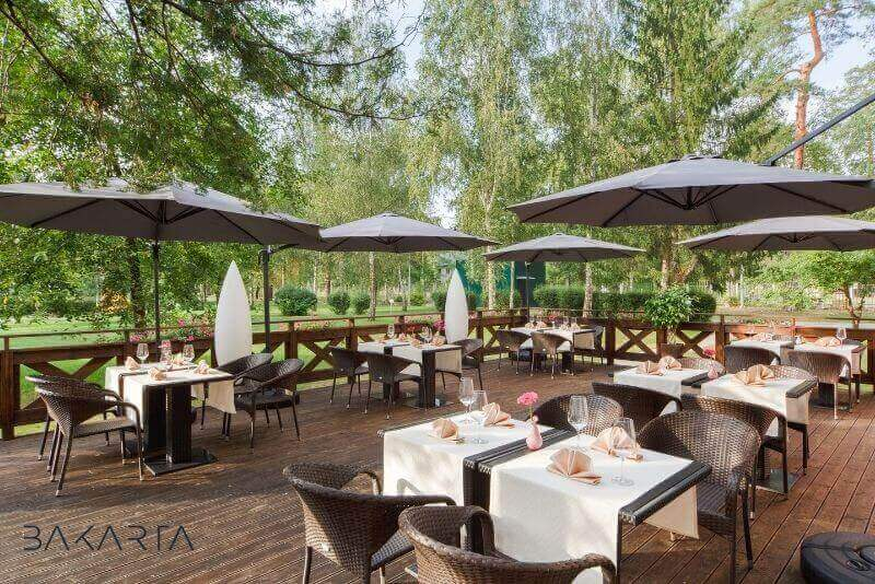 Terraza de restaurante