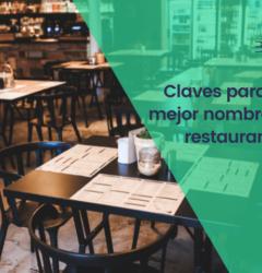 ¿Cómo escoger el nombre de un restaurante?