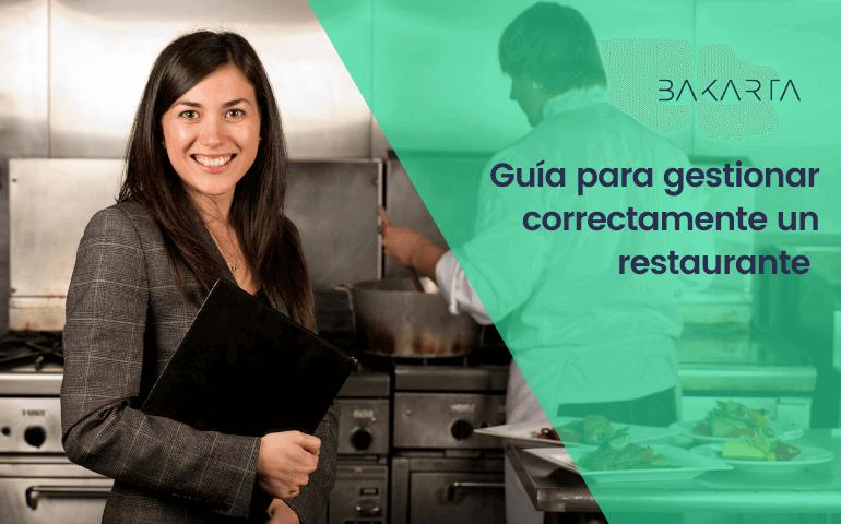 Guía para la gestión de un restaurante