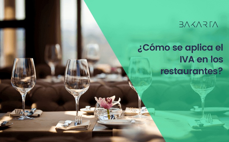 IVA en restaurantes